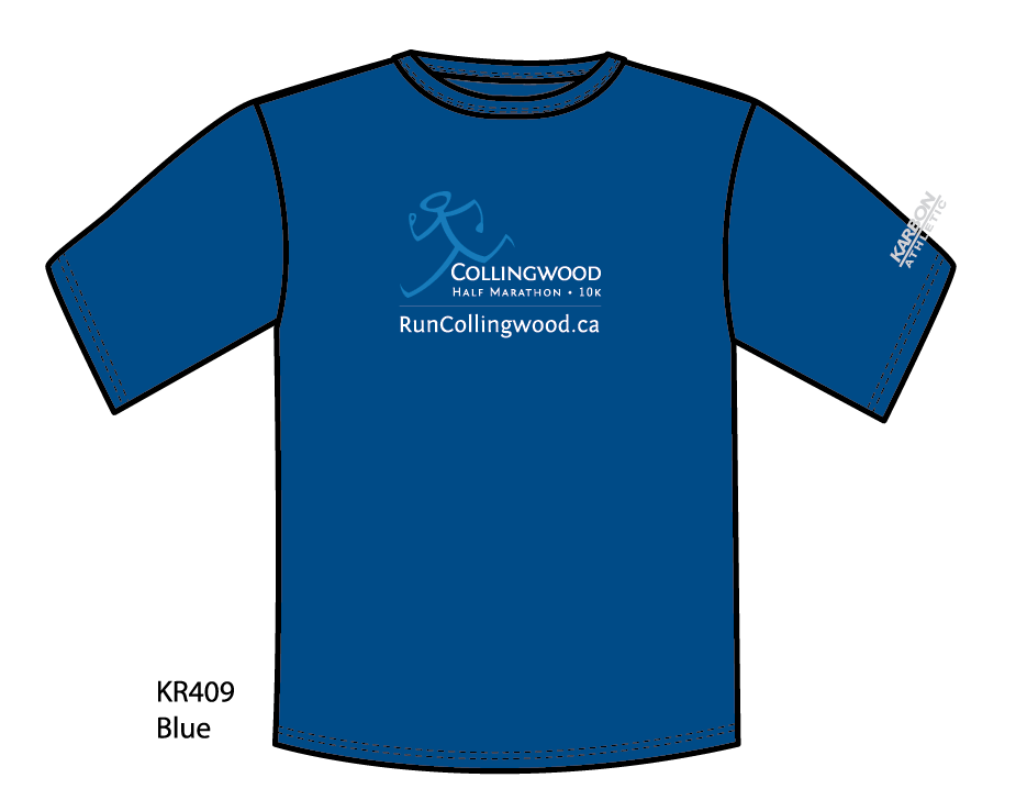 The Run Collingwood shirt design for 2013! Karbon technical wicking shirt.
